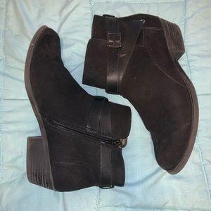 Carlos by Carlos Santana Black Ankle Boots